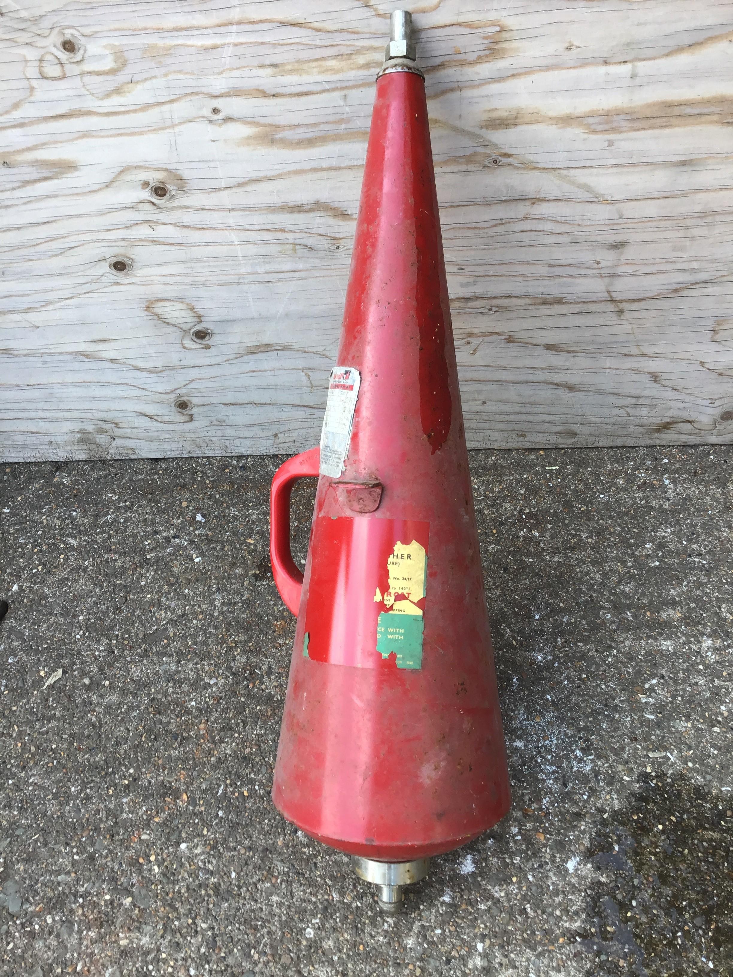 Vintage Fire Extinguisher - Image 2 of 2