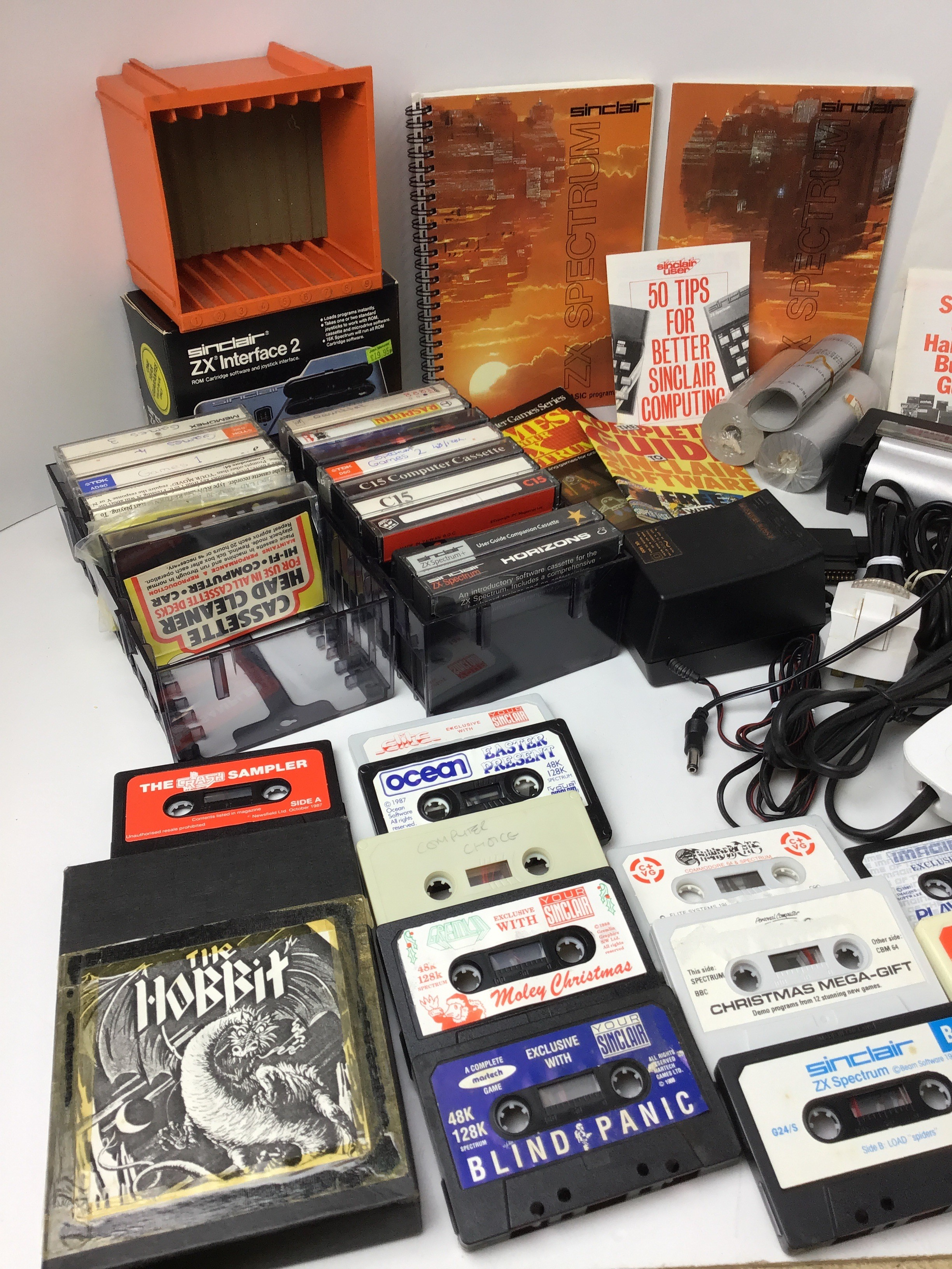 Collection of ZX Spectrum Accessories - Games, Printer, Joysticks and User Manuals etc - Image 4 of 4
