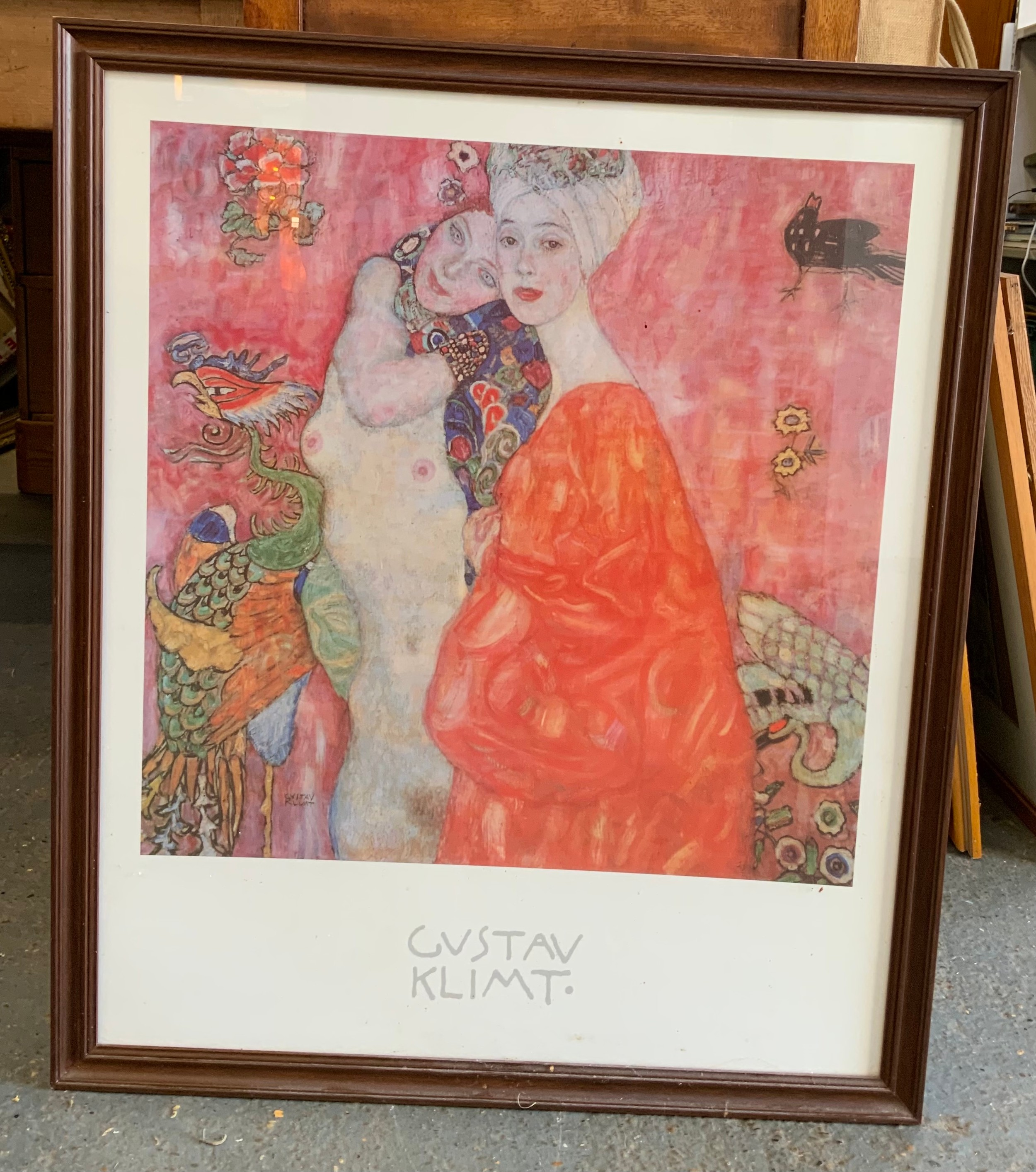 Framed Klimt Print