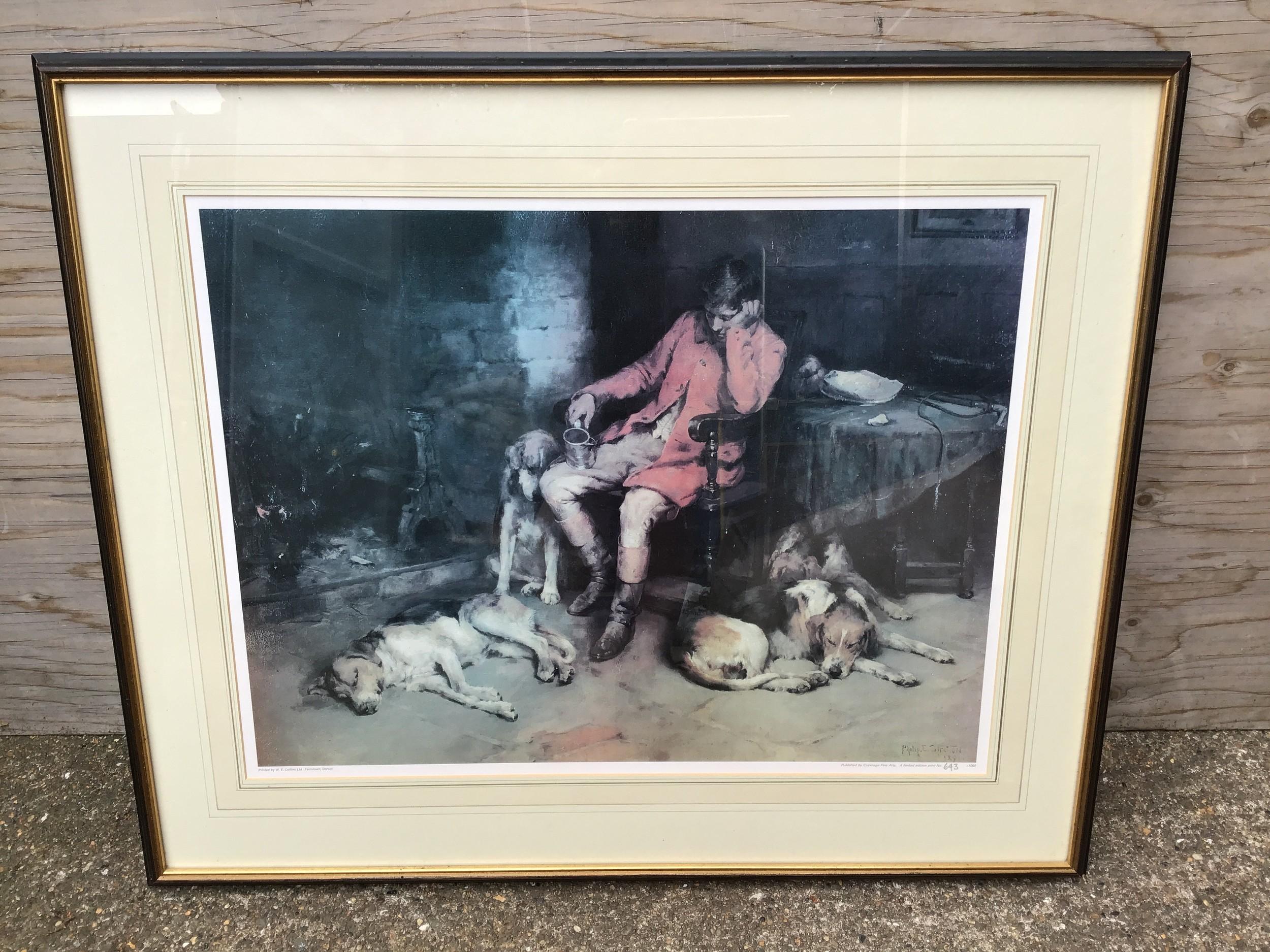 Framed Picture - Huntsman and Hounds