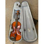 3/4 Violin in Case - 56cm Long