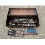 Metal Box and Contents - Vehicle Accessories