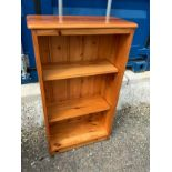 Pine Bookshelves - 53cm W x 92cm H