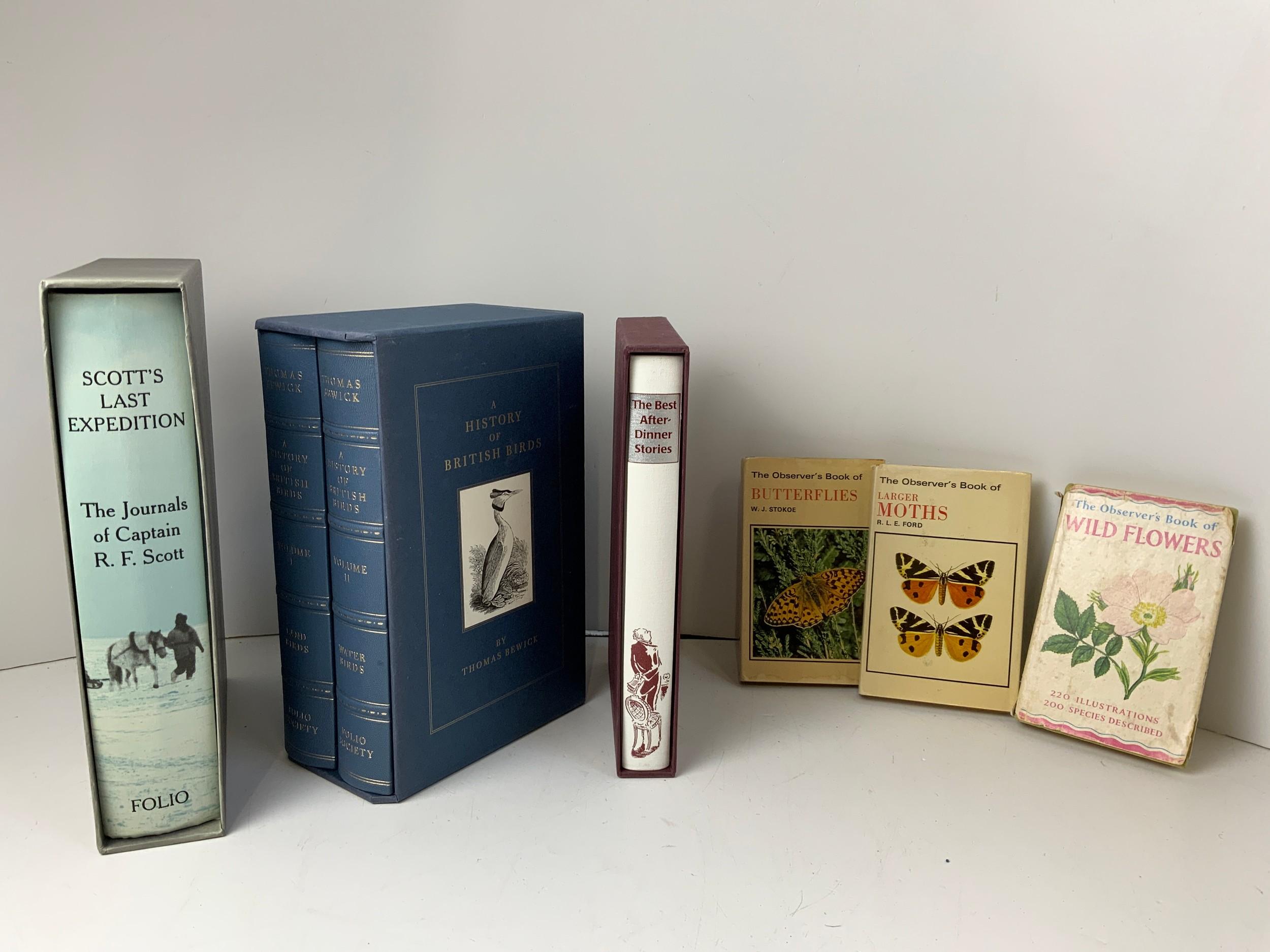 Folio Books and Observers