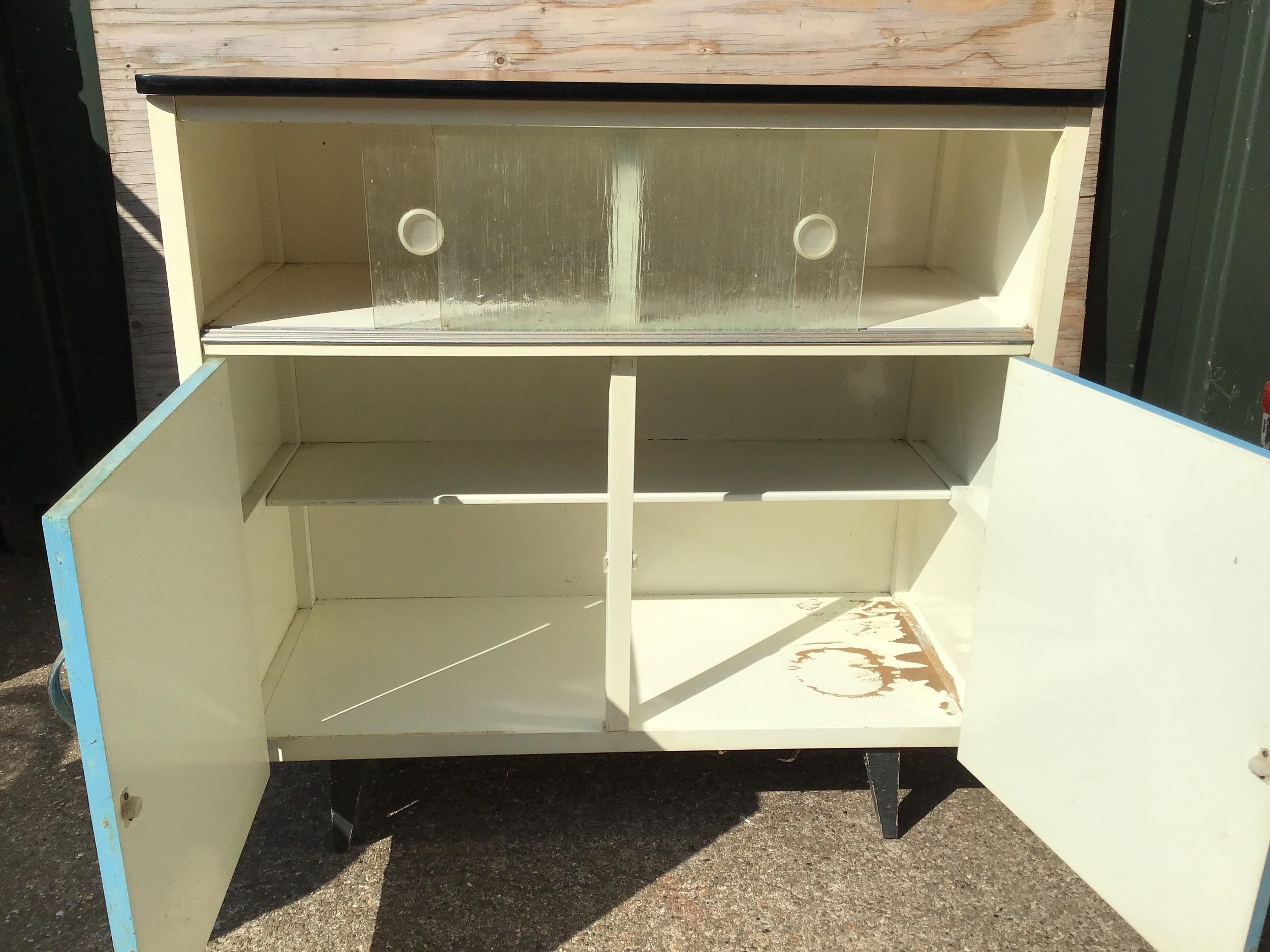 Vintage Kitchen Cupboard - Image 2 of 3