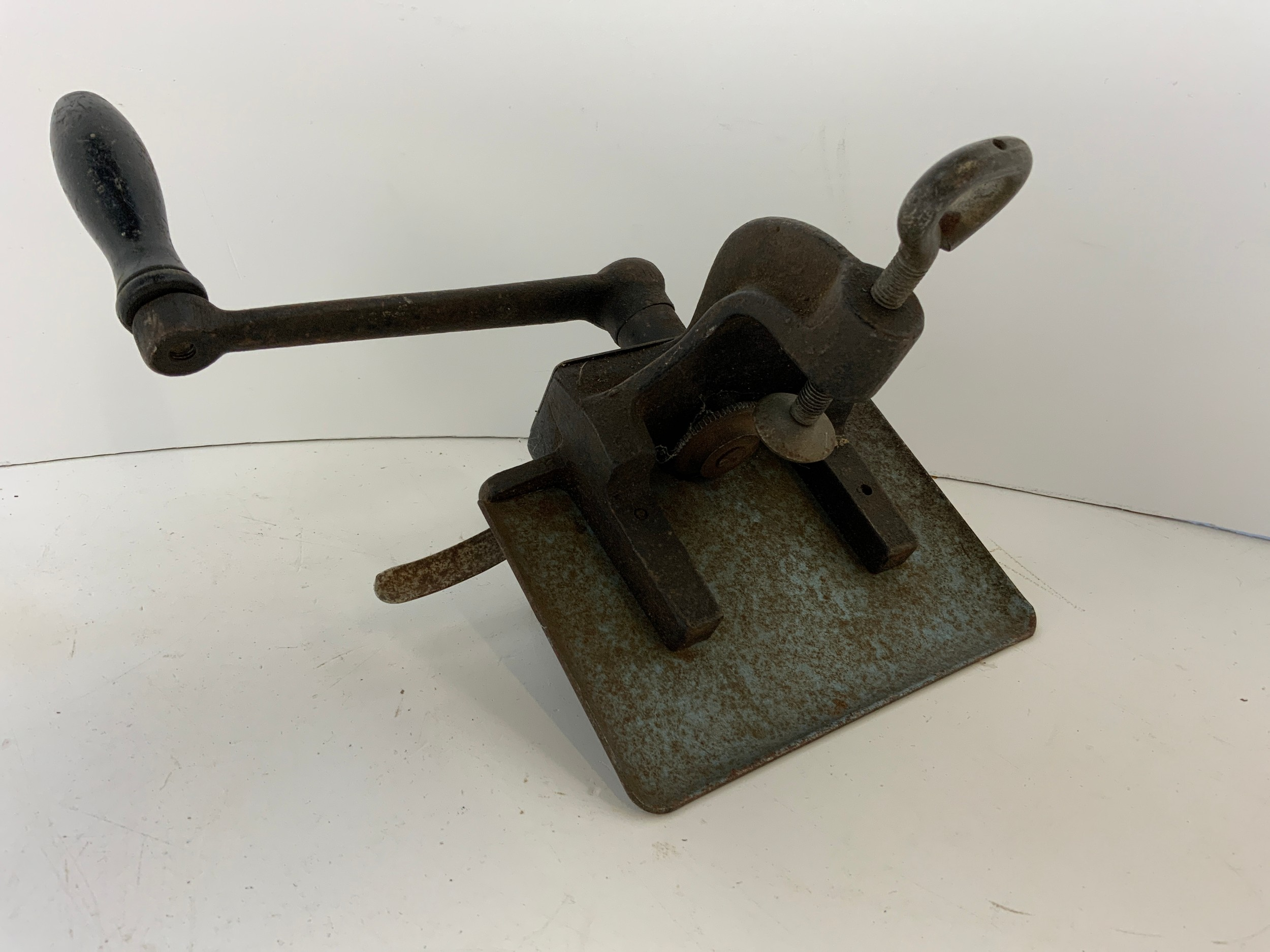Leather/Card Crimper and Oil Lamp Parts - Image 2 of 2