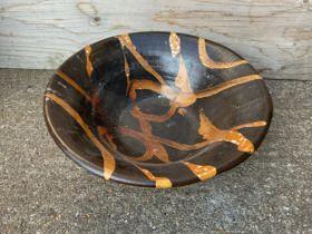 Glazed Terracotta Bowl - 53cm Diameter