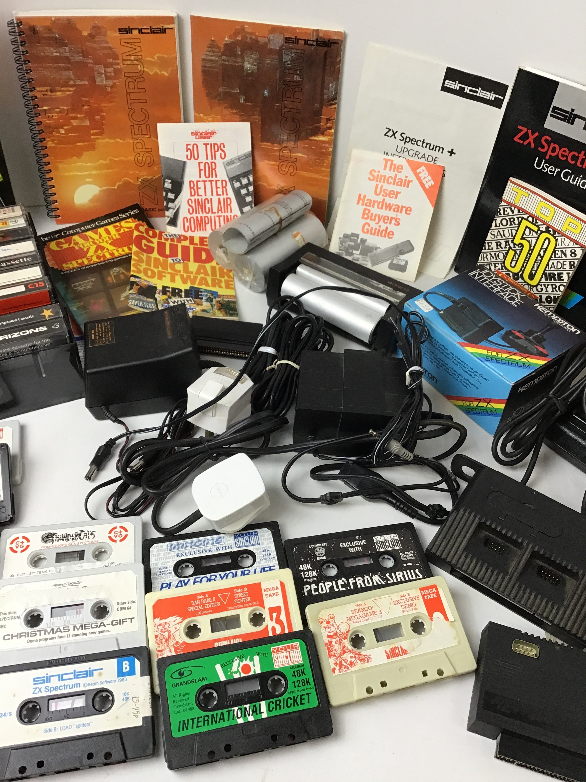 Collection of ZX Spectrum Accessories - Games, Printer, Joysticks and User Manuals etc - Image 3 of 4
