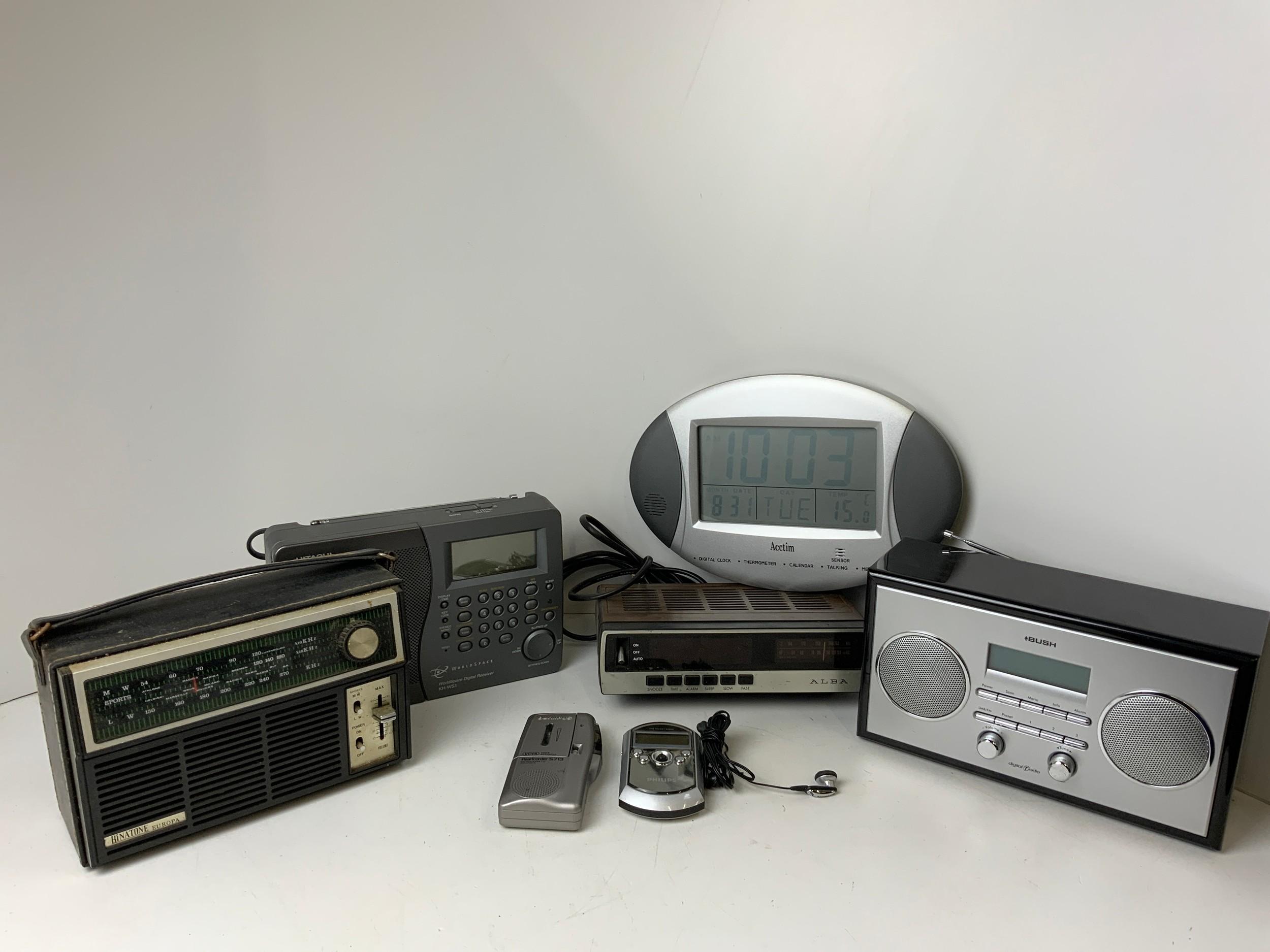 Quantity of Radios etc