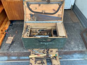 Pine Toolbox and Contents