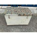 Painted Pine Box