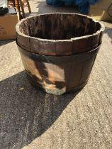 Half Coopered Barrel
