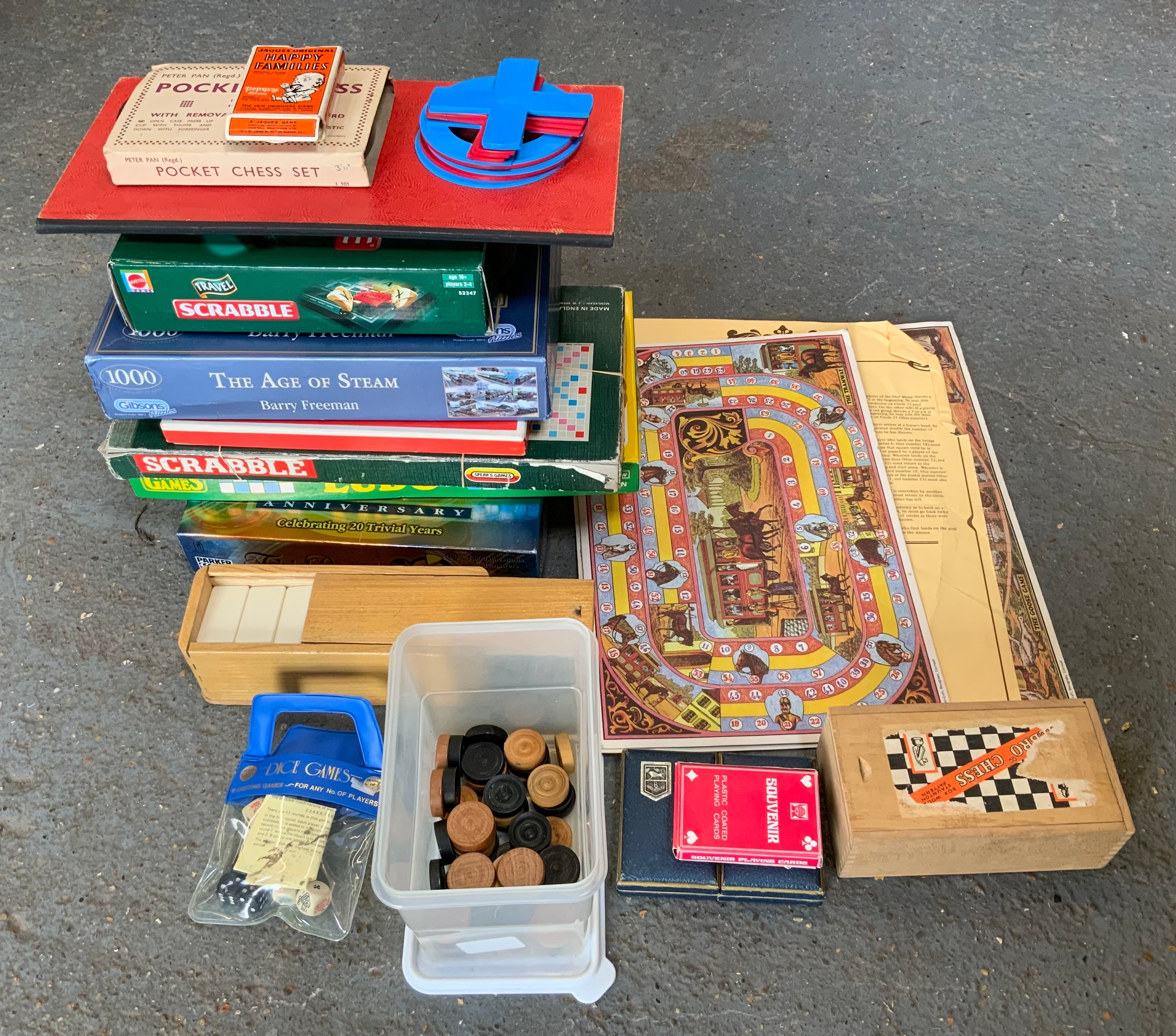 Parlour Games and Jigsaw The Age of Steam