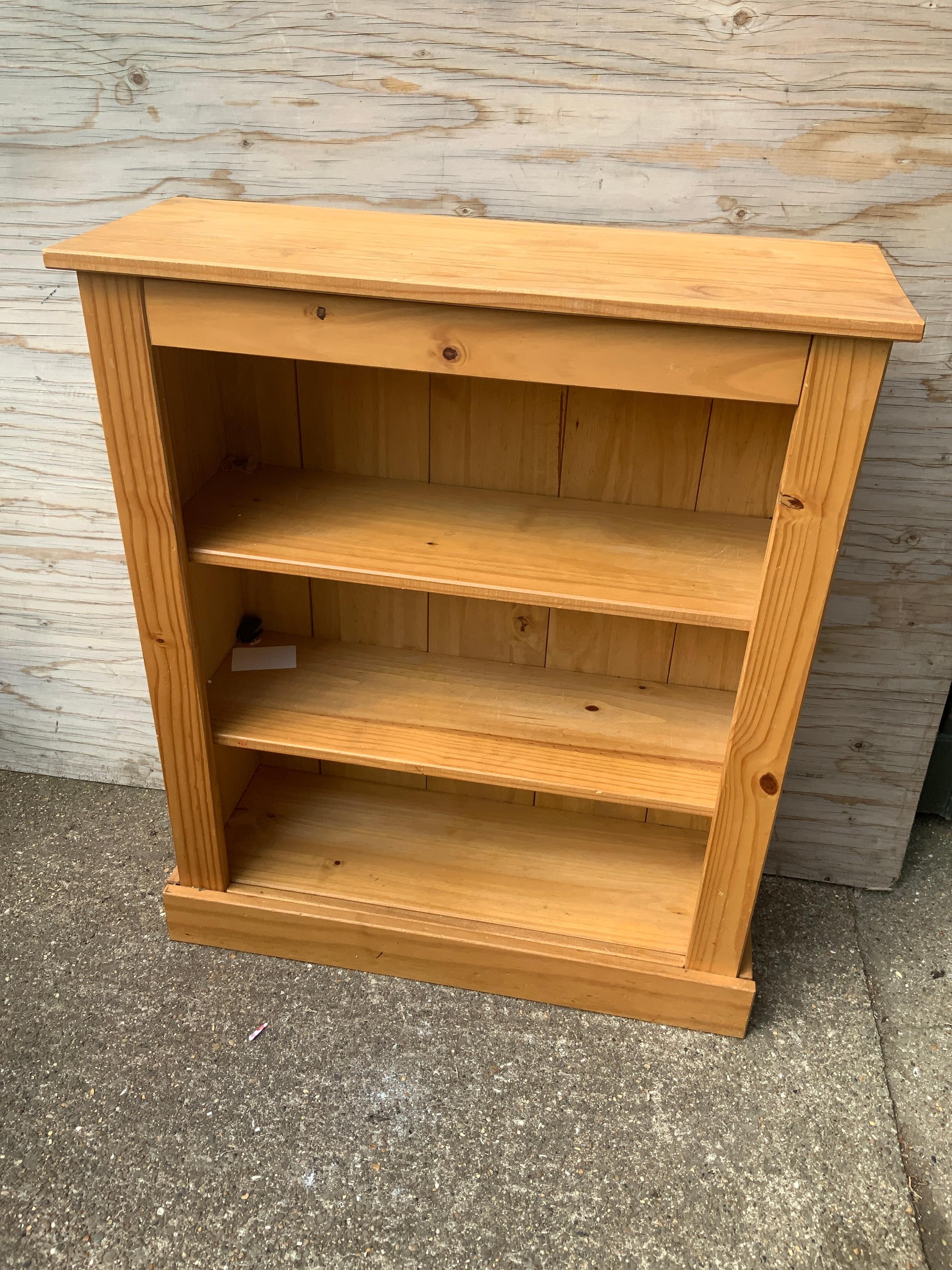 Pine Bookshelves - 78cm W