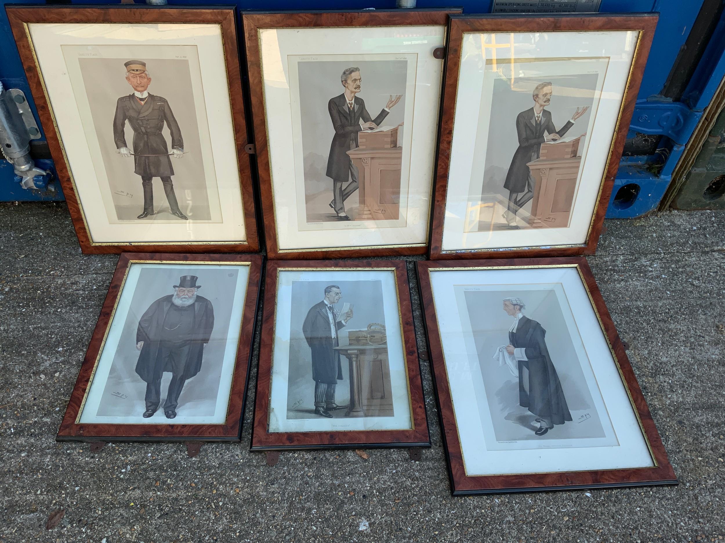 Framed Vanity Fair Prints