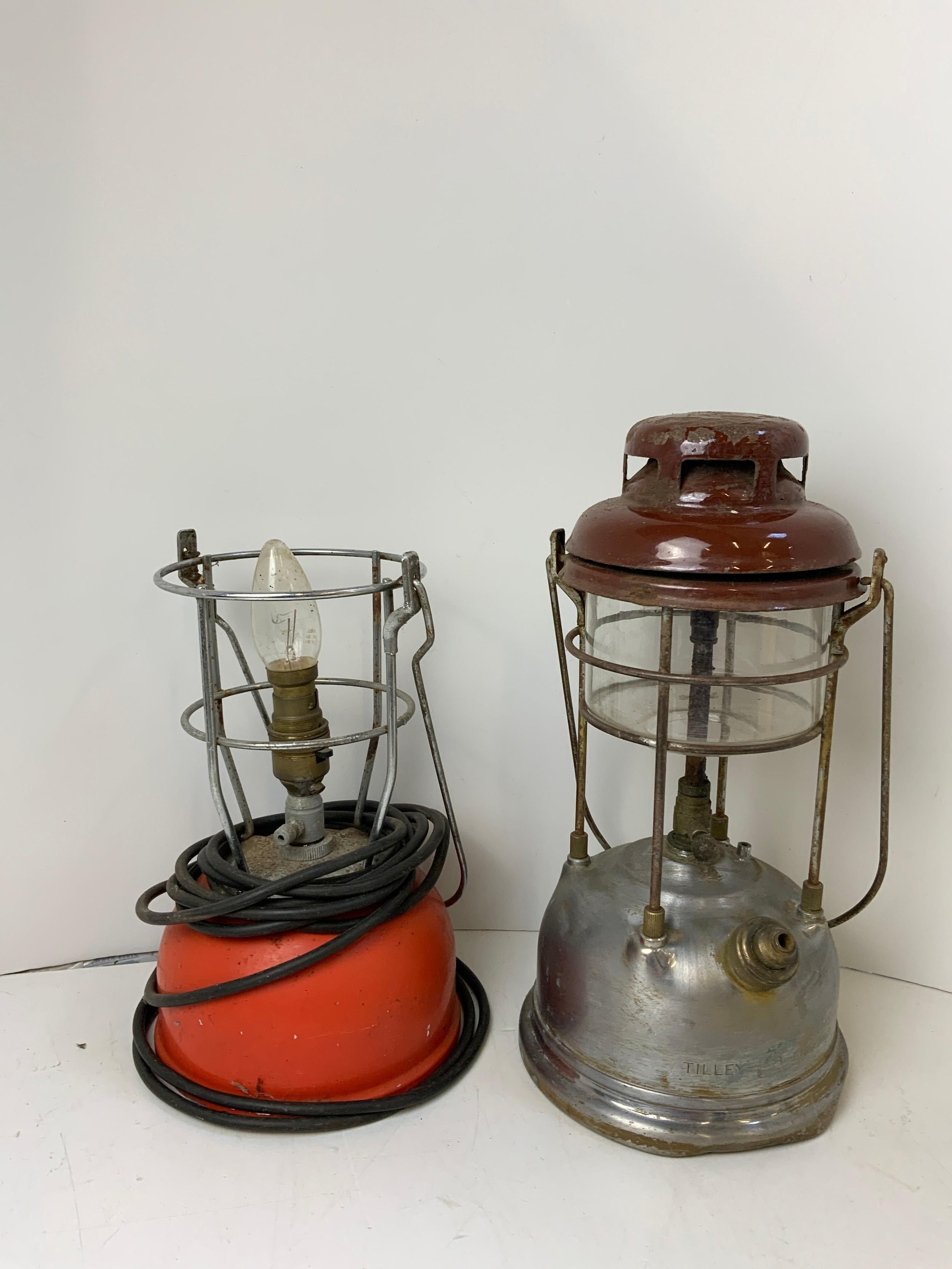 2x Tilley Lamps