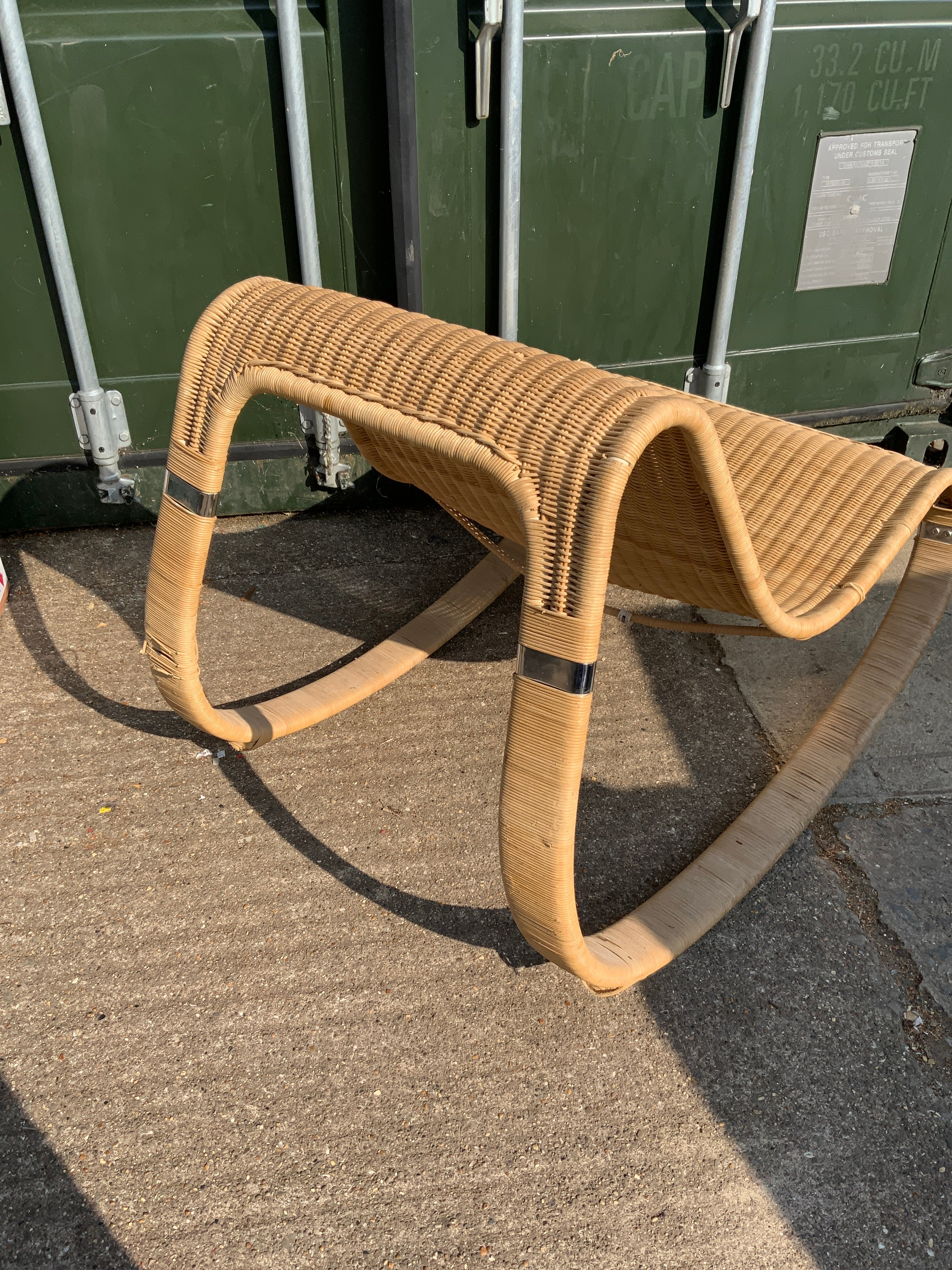 Rattan Rocking Chair - Image 2 of 2