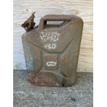 War Department Petrol Can