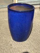 Glazed Planter - H63cm