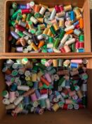 Large Quantity of Quilting Threads