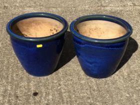 Pair of Garden Planters - H26cm
