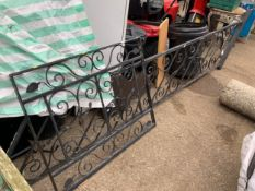 Iron Stair Railing and Gate