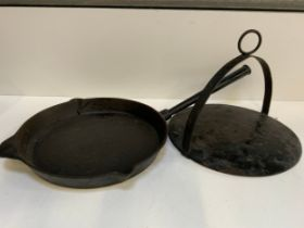 Cast Iron Skillet and Lid
