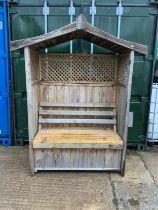 Good Quality Garden Seat with Storage