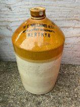 Large Stoneware Flagon - 47cm High