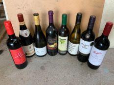 8x Bottles of Wine