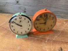 2x Alarm Clocks - Working