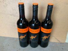 Wine - 3x Bottles of Yellow Tail Merlot