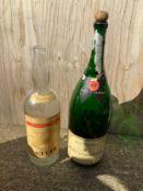 2x Oversized Bottles