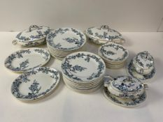 Large Quantity of Blossom China - Part Dinner Service