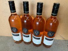 Wine - 4x Bottles of Camel Valley Rose