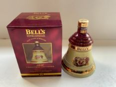 Unopened Christmas Bells Whisky Decanter 1996