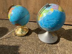 2x Globes