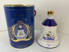 Unused Commemorative Bells Whisky Decanter