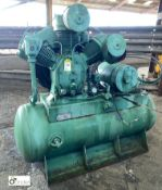 Receiver mounted 3-stage Compressor (please note this lot has a lift out fee of £10 plus vat)