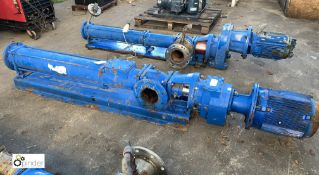 Mono C19B Pump, with motor, max DEL pressure 16bar (please note this lot has a lift out fee of £10