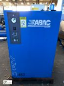 Abac Dry 460 Compressed Air Dryer (please note this lot has a lift out fee of £10 plus vat)