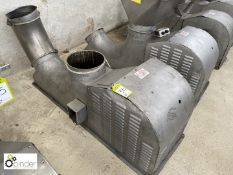 Heatons Engineering HE24/250S stainless steel Ingredient Blower (please note there is a lift out fee