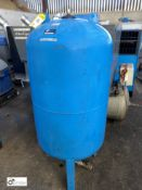 Welded Vertical Expansion Vessel (please note this lot has a lift out fee of £10 plus vat)