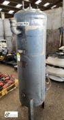 Vertical Air Receiving Tank, 11bar, 250litres (please note this lot has a lift out fee of £10 plus
