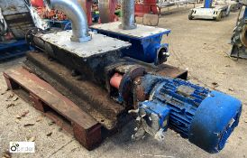 Mono Pump, 6bar, 191RPM with 4kw electric motor (please note this lot has a lift out fee of £10 plus