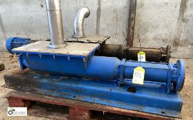 Incomplete Mono Pump (please note this lot has a lift out fee of £10 plus vat)