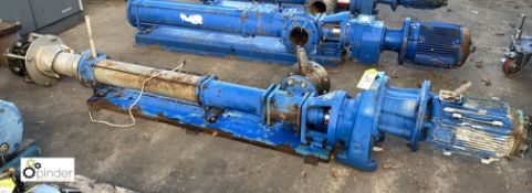 Mono CB07KAE1R1/G412 Pump, with motor, max DEL pressure 10bar (please note this lot has a lift out