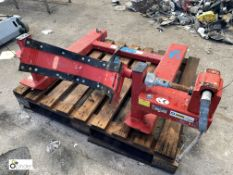 Gruse FW/P forklift truck mountable Drum Tipper (please note this lot has a lift out fee of £10 plus
