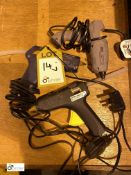 3 various Glue Guns (LOCATION: Wakefield) (please note there is a lift out fee of £2 plus VAT on