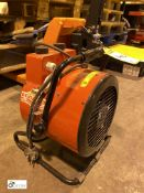 Clarke Devil 7003 Fan Heater (LOCATION: Wakefield) (please note there is a lift out fee of £2 plus